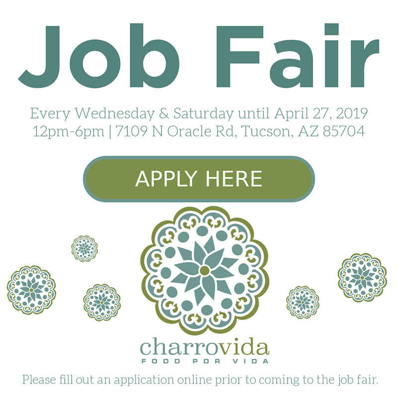 Job Fair - Charro Vida - Apply Here